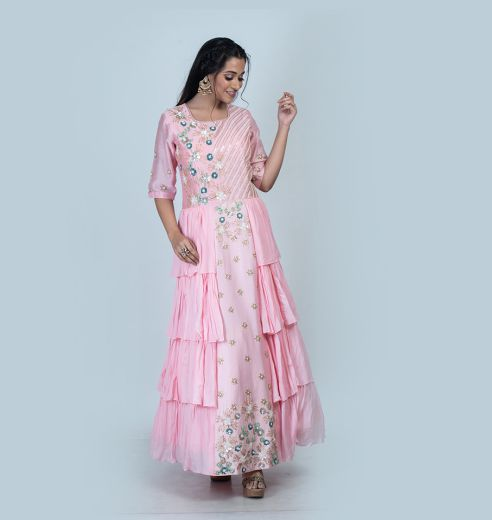 Shehar - It is crafted from the finest fabrics with exquisite classical work for the millennial queens and princesses.